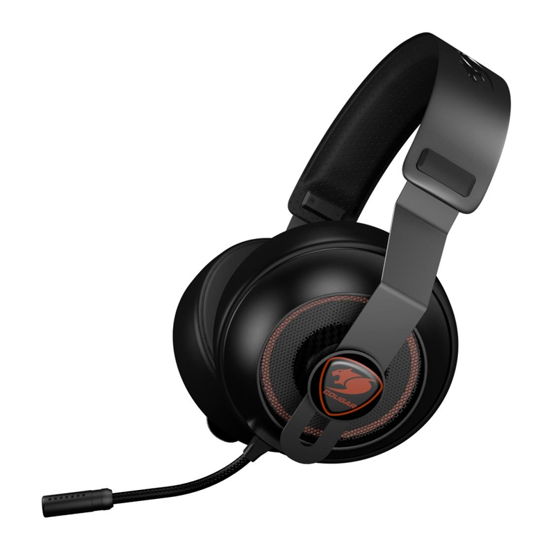 Headset Gamer Cougar Phontum Essential Black - 3H150P40B