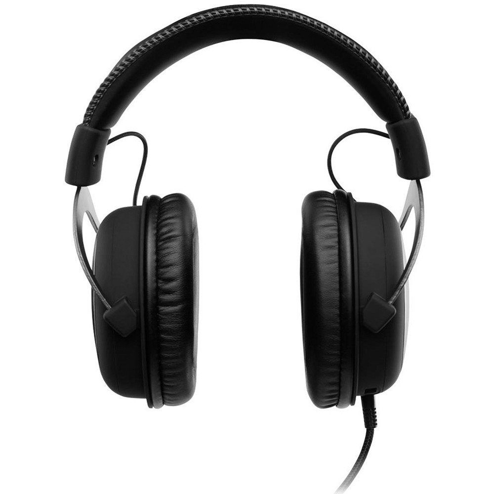 Headset Gamer Kingston HyperX Cloud II - Som surround 7.1, Controle avançado de áudio, Microfone Destacável - KHX-HSCP-GM - Preto/Cinza