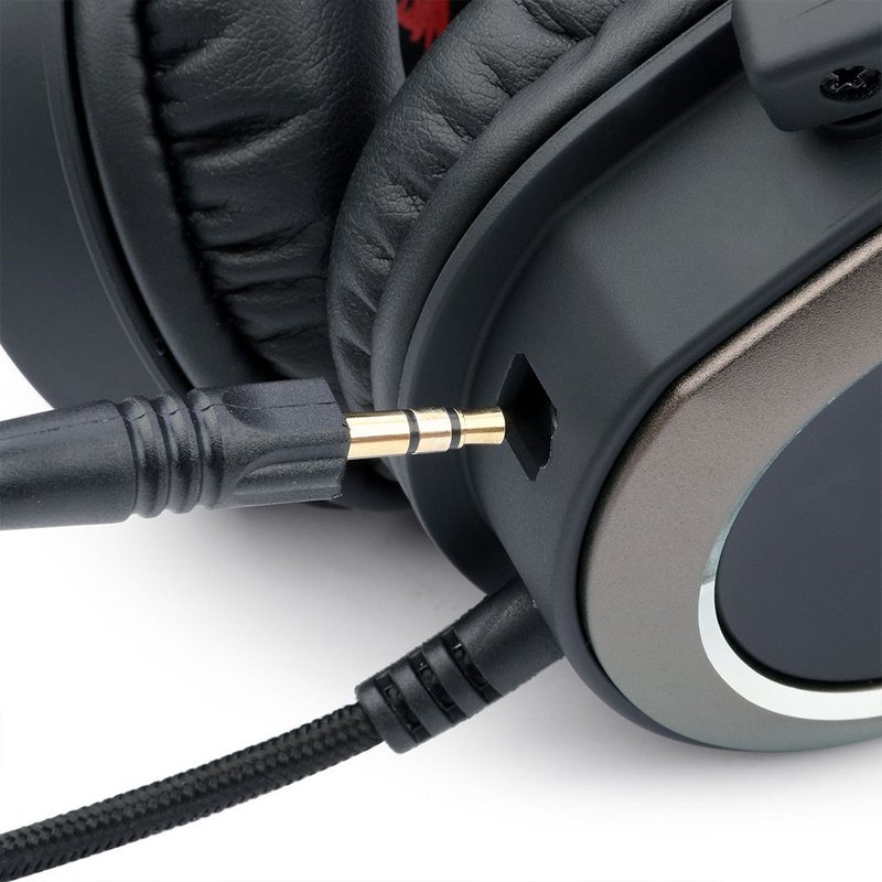 Headset Gamer Redragon Helios H710 Surround 7.1, USB