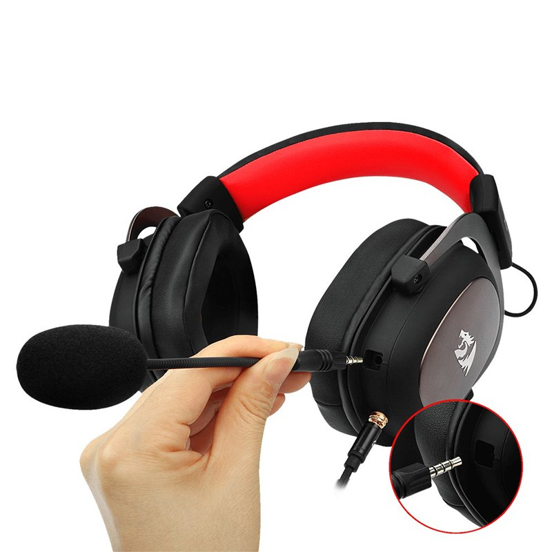 Headset Gamer Redragon Zeus 2 Surround 7.1, Drivers 53mm - H510-1