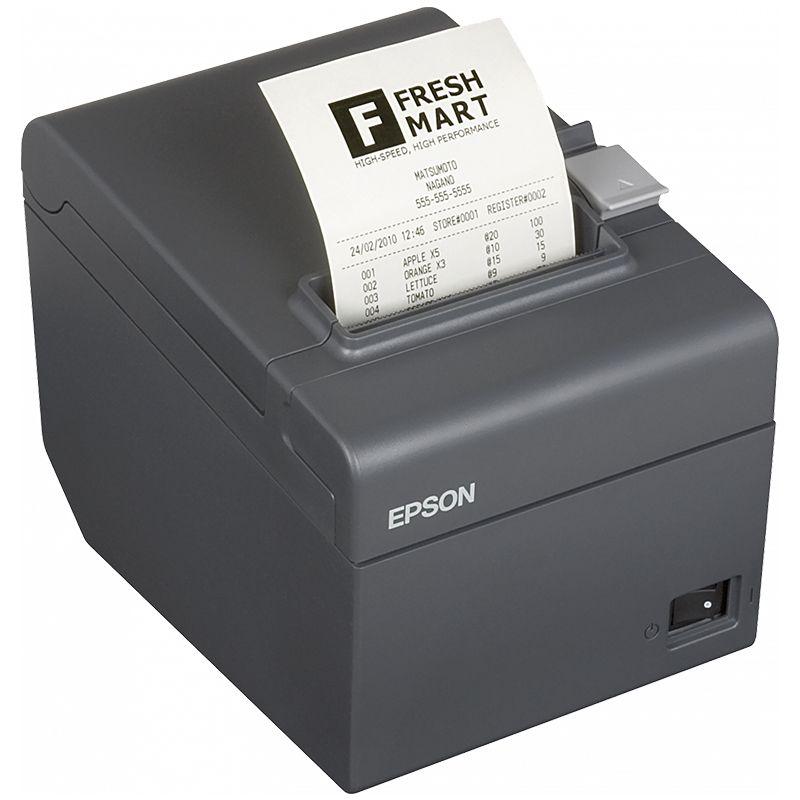 Impressora Fiscal ECF Térmica Epson TM-T900F - USB / Ethernet, Guilhotina