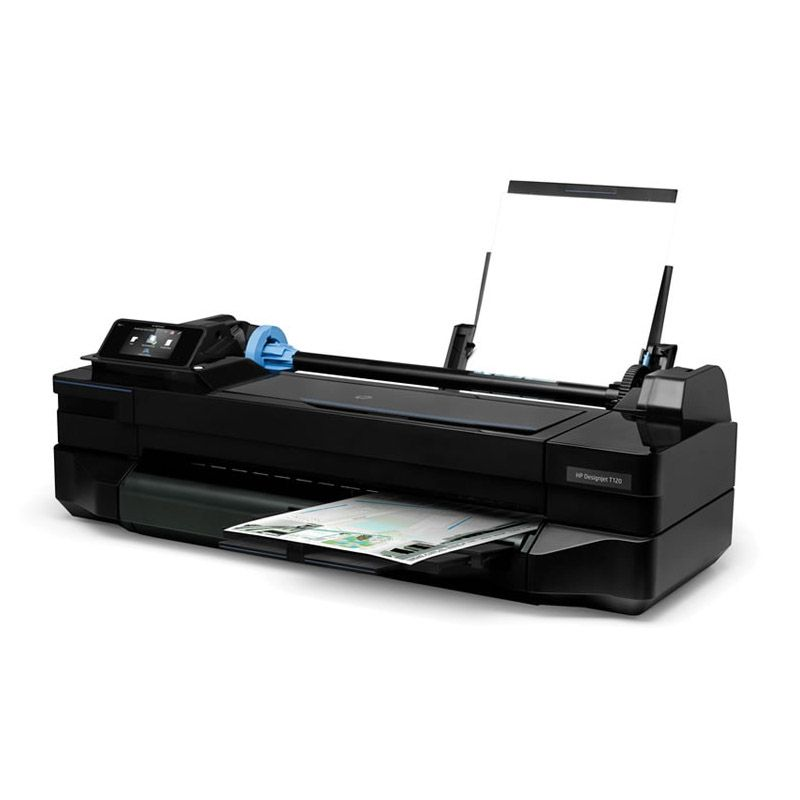 Impressora HP DesignJet T120 - Impressões em A1, Wireless, USB