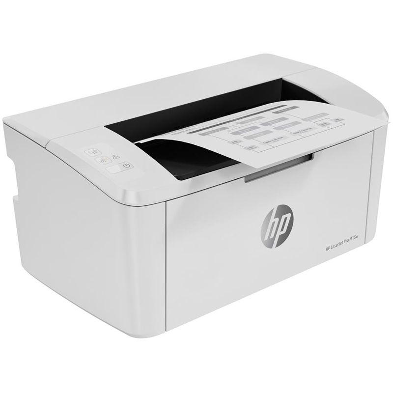 Impressora HP LaserJet Pro M15w - Laser, Wireless, monocromática
