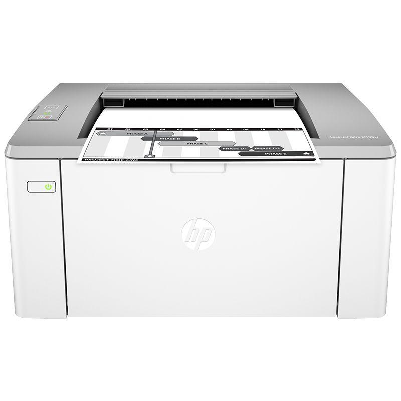 Impressora HP LaserJet Ultra M106W - Wireless