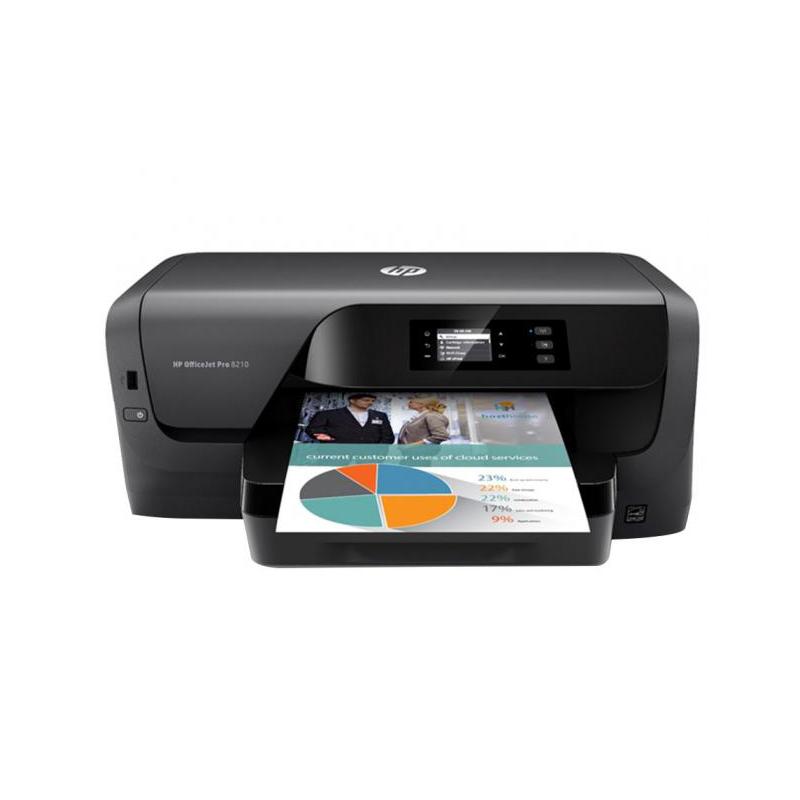 Impressora HP OfficeJet Pro 8210 - Jato de Tinta, Wireless, 600 Dpi, 34 Ppm