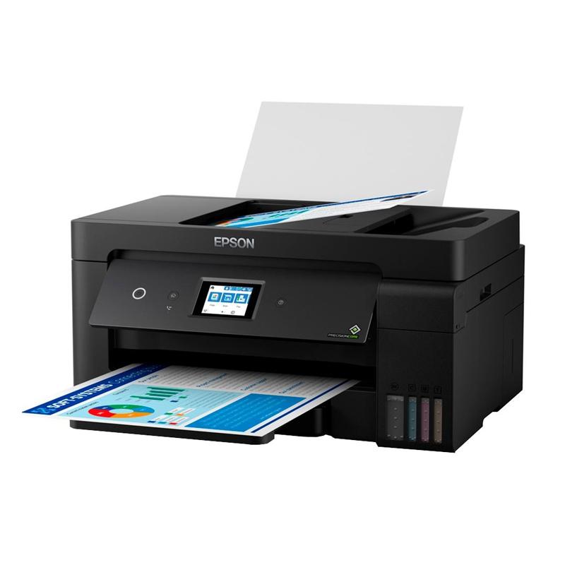 Impressora Multifuncional Epson EcoTank L14150 - Impressao A3+, Tanque de tinta frontal, Wireless