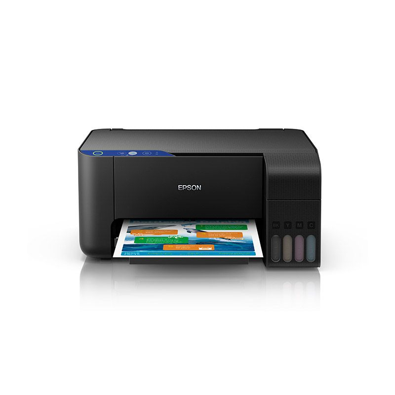 Impressora Multifuncional Epson EcoTank L3110 - USB