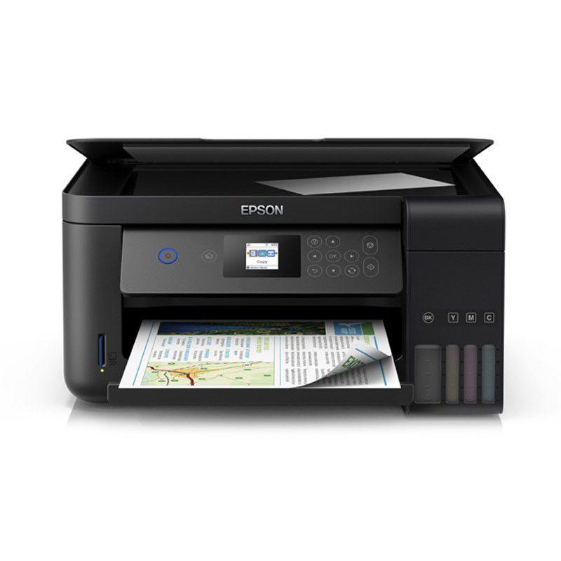 Impressora Multifuncional Epson EcoTank L4160 – Imprime, copia, digitaliza, wifi