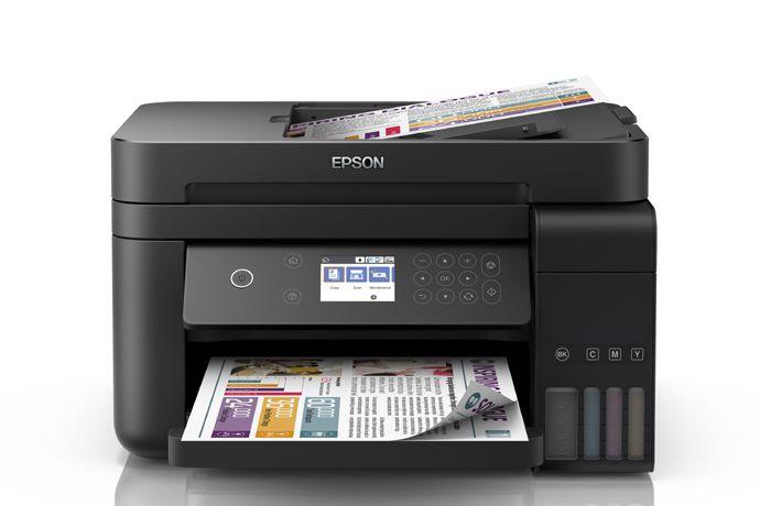 Impressora Multifuncional Epson EcoTank L6171 - Jato de tinta, Colorida, Wireless, Bivolt
