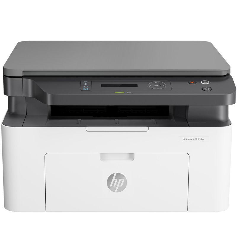Impressora Multifuncional HP LaserJet MFP M135W - Wireless, USB, 10000 pg/mês, monocromática