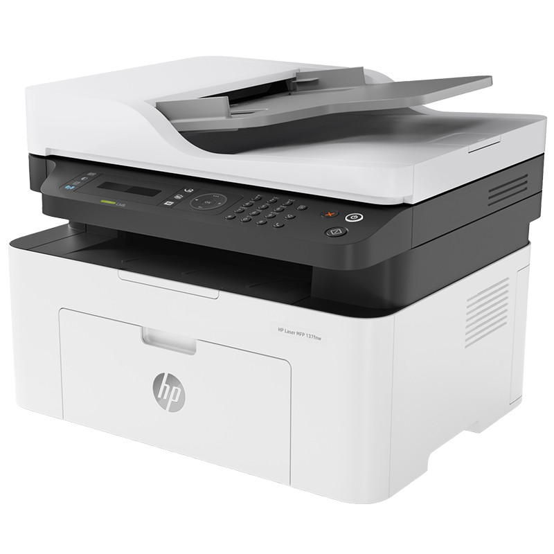 Impressora Multifuncional HP LaserJet MFP M137fnw - Wireless, USB, Rede Ethernet, até 10.000 pg/mês