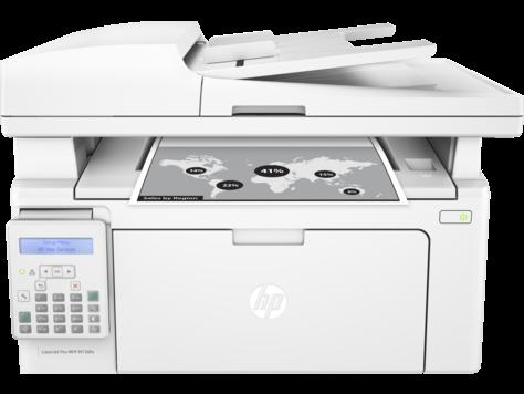 Multifuncional HP Laser Jet Pro M130fn - Copiadora, Fax, Digitalizadora