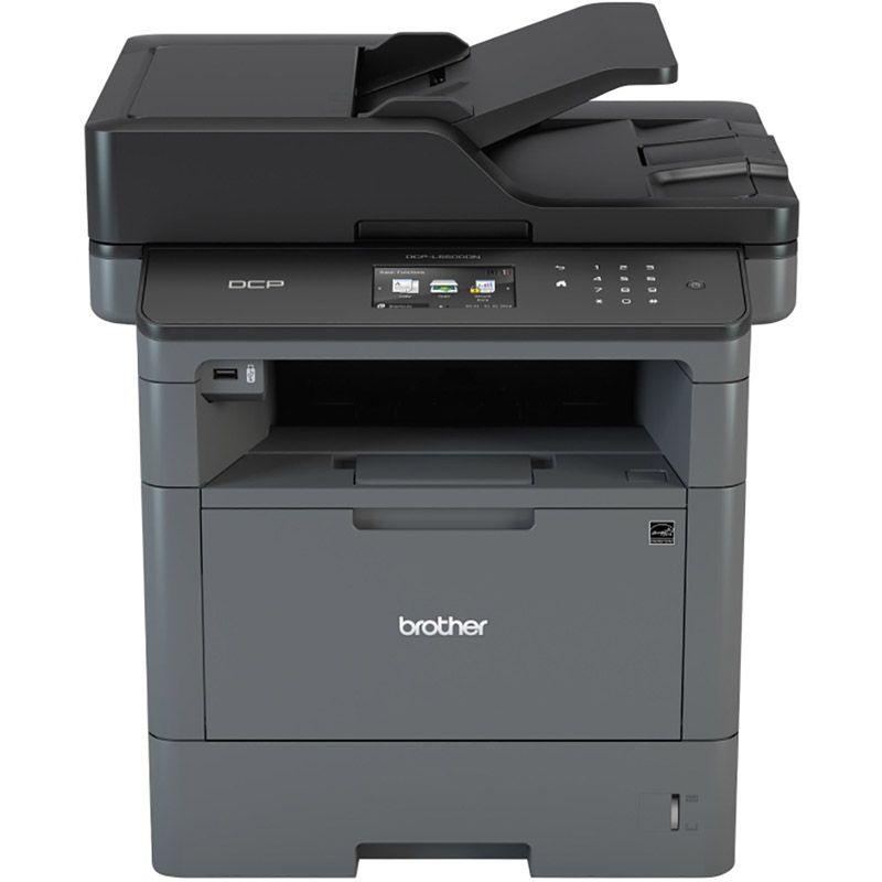 Impressora Multifuncional Laser Brother DCP-L5502DN  - Wireless, Duplex Avançado, Monocromático, USB