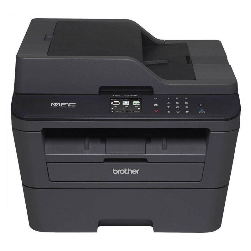 Impressora Multifuncional MFC-L2740DW - Monocromático, Wireless, Fax, Duplex, USB