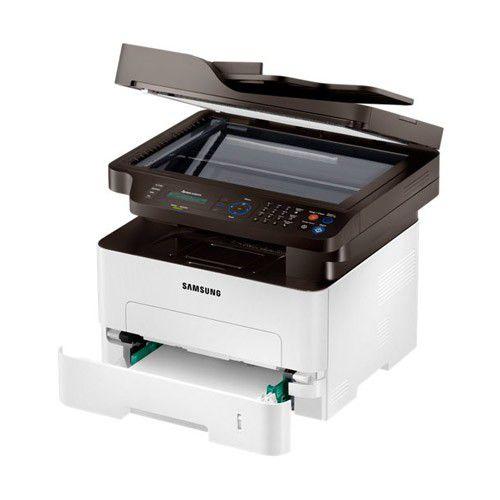 Multifuncional Samsung M2885 - digitalizadora, copiadora, fax, até 12.000 pg/mês, laser, NFC - Express SL-M2885FW