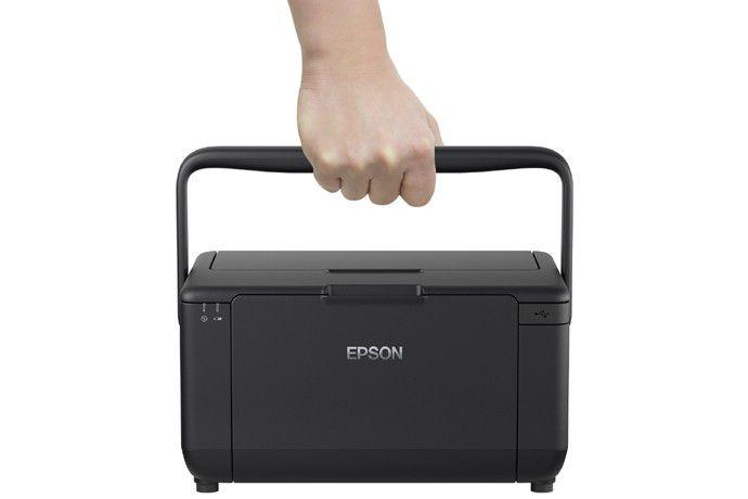 "Impressora Portátil PictureMate PM-525 Epson - Wireless, LCD de 2,7"", Impressões resistentes - C11CF36302"
