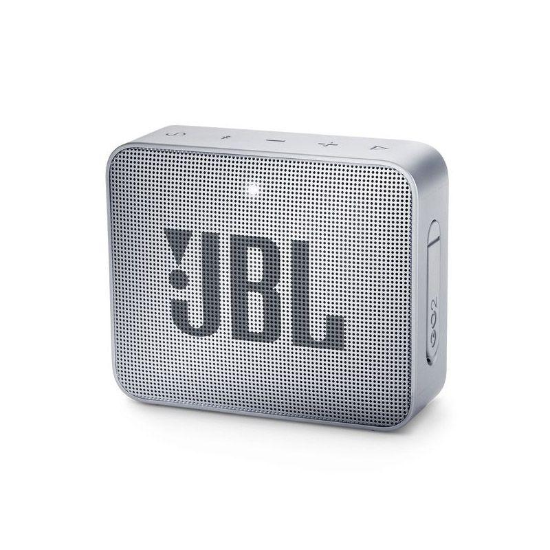 JBL GO 2 - Bluetooth, À prova d'água, Microfone embutido - Cinza Go2