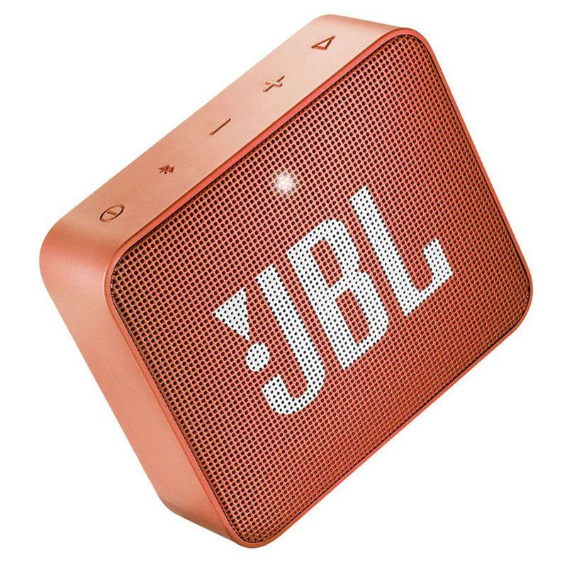 JBL GO 2 - Bluetooth, À prova d'água, Microfone embutido - Laranja Go2