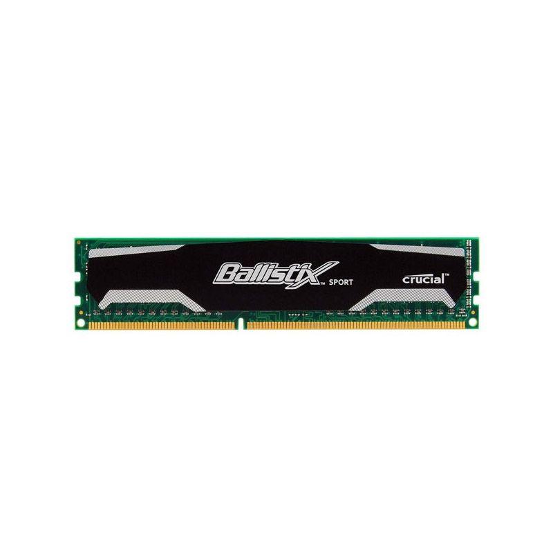 Memória Crucial Ballistix Sport Gaming Sport - 4GB, 1600MHz, DDR3 - BLS4G3D1609DS1S00