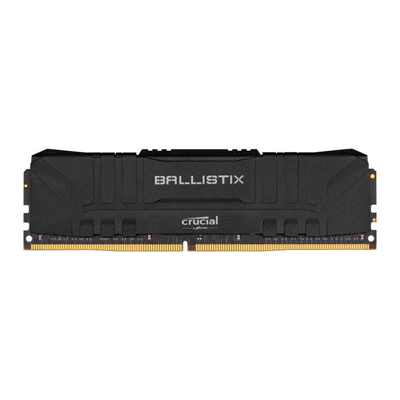 Memória DDR4 8GB 2666mhz Crucial Ballistix CL16 - BL8G26C16U4B
