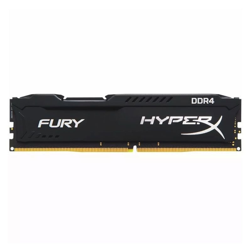 Memória DDR4 Gamer Kingston HyperX Fury - 4GB, 2400MHz