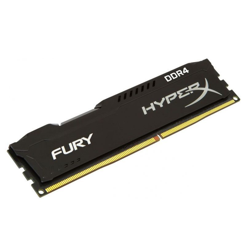 Memória DDR4 Gamer Kingston HyperX Fury - 8GB, 2400MHz