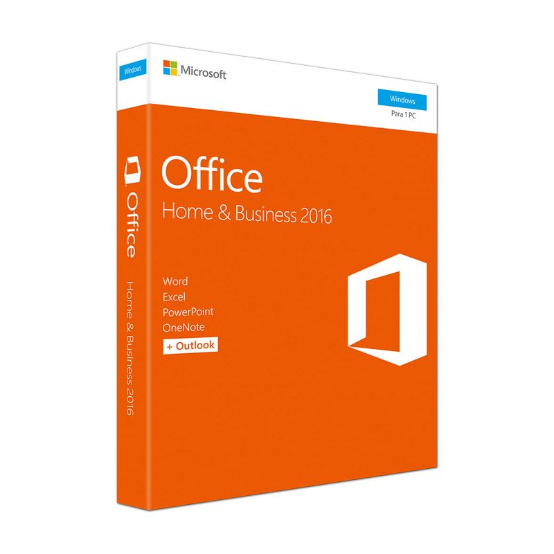 Microsoft Office Home Business 2016 – 32/64Bits – T5D-02932