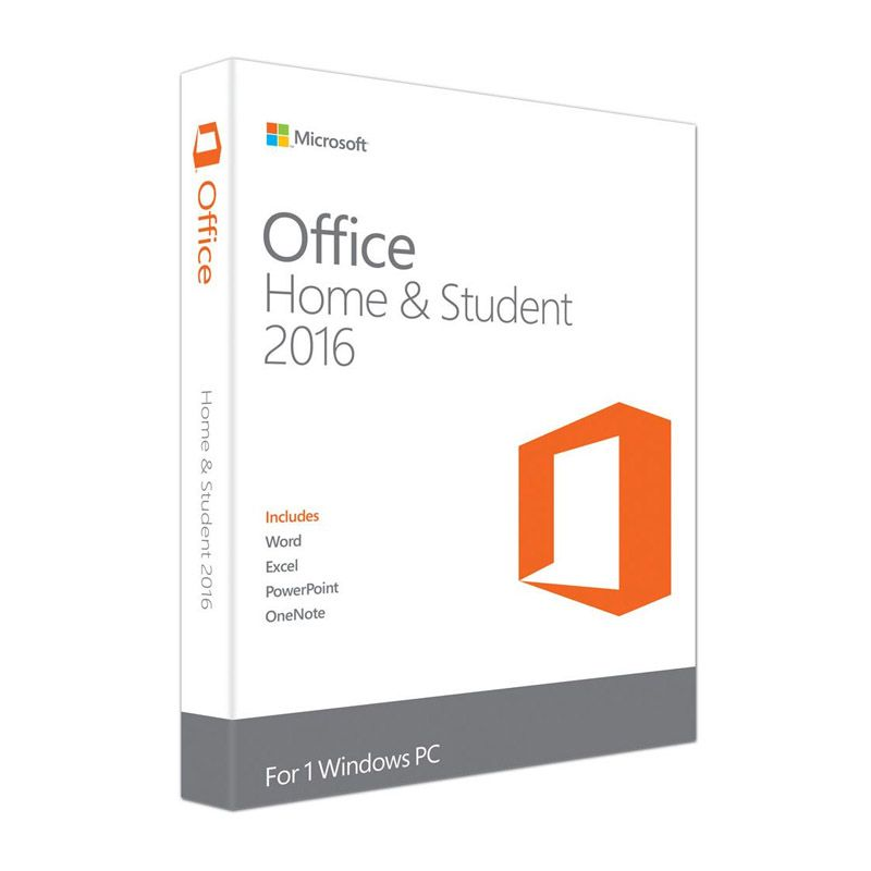 Microsoft Office Home Student 2016 – 32/64Bits – 79G-04350
