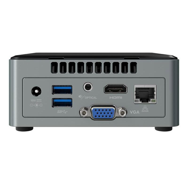 Mini PC Intel NUC - Intel Celeron J3455, 4GB, SSD 120GB, HDMI, Wireless