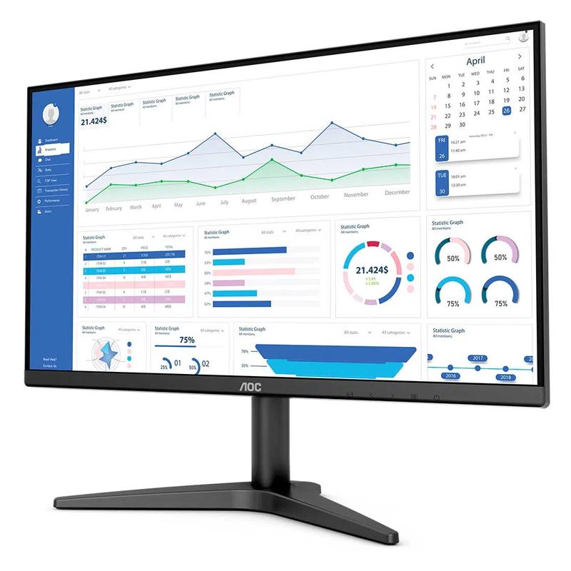 "Monitor 21.5"" AOC B1 Full HD, HDMI/VGA, 75Hz - 22B1HM5"