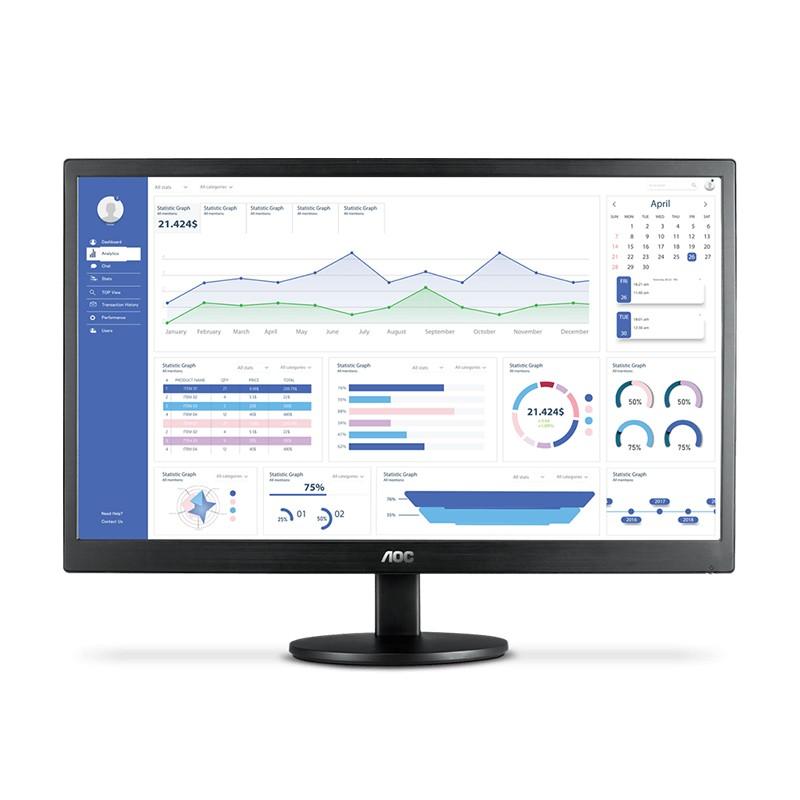 "Monitor 23.6"" AOC Full HD, HDMI + VGA - M2470SWH2"