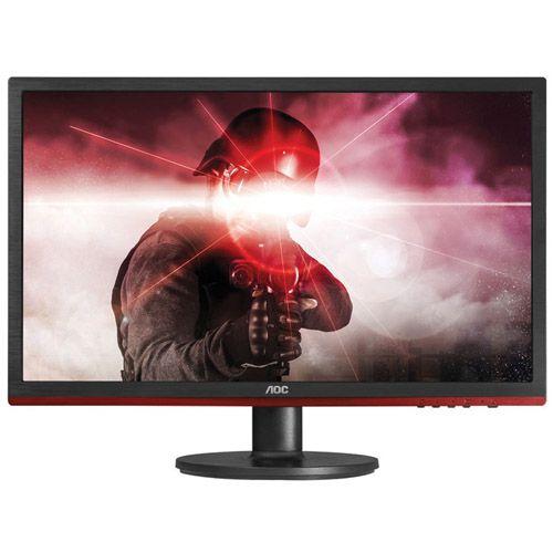 "Monitor AOC Gamer Entusiasta – 24"", HDMI, VGA, Alto-Falantes, Displayport"