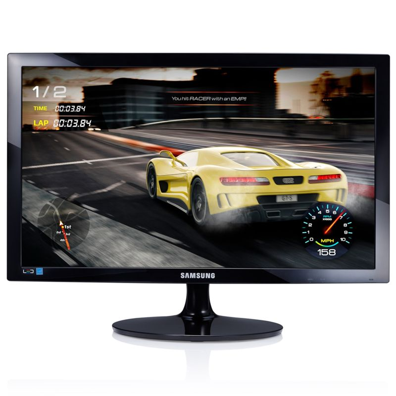 "Monitor Gamer 24"" Samsung LED Full HD, 1ms, 75hz, HDMI/VGA - S24D332"