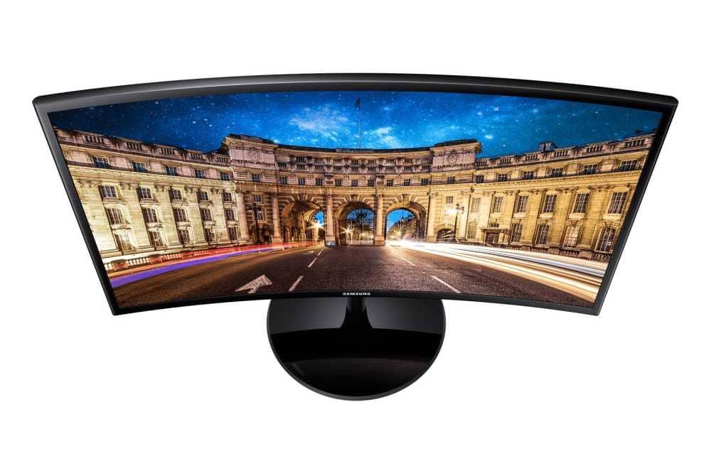 """Monitor Gamer Curvo 24"""" Samsung - Tela curva Full HD, FreeSync, HDMI  - LC24F390"""