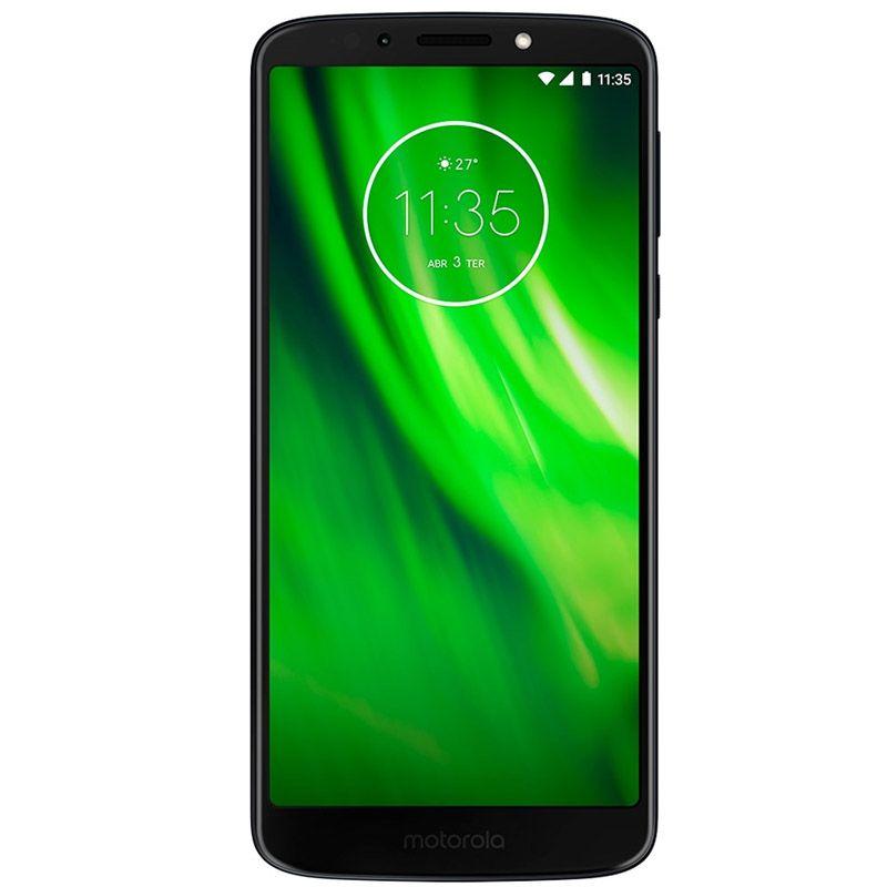 "Motorola Moto G6 Play - 32GB, TurboPower,  Octa-core, Tela HD+ de 5,7"" – Índigo"