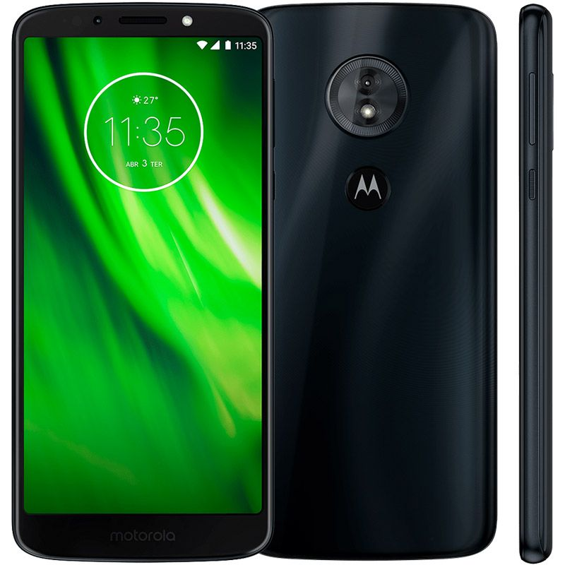 "Motorola Moto G6 Play - 32GB, TurboPower,  Octa-core, Tela HD+ de 5,7"" – Índigo"
