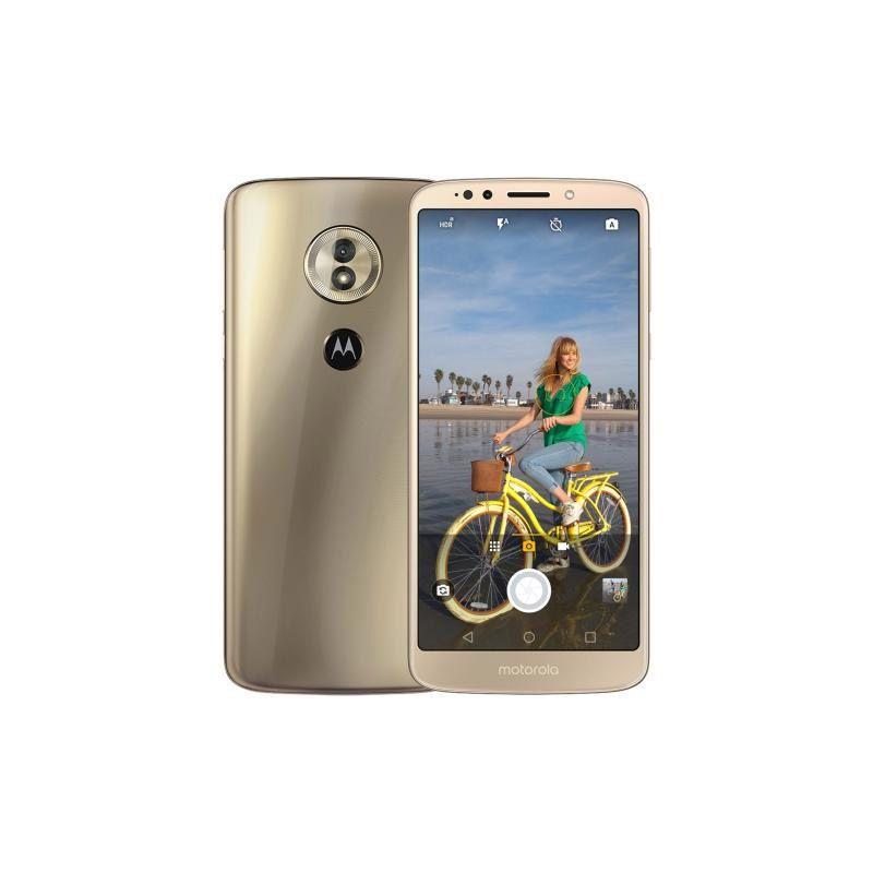 "Motorola Moto G6 Play - 32GB, TurboPower,  Octa-core, Tela HD+ de 5,7"" – Ouro"