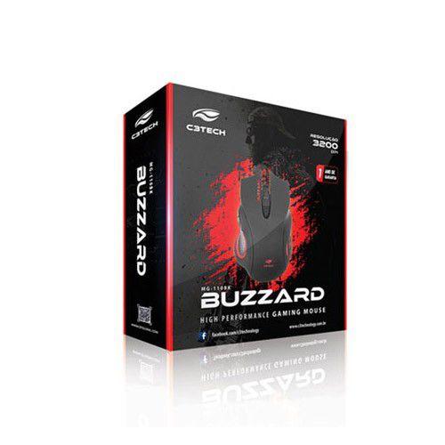 Mouse Gamer C3Tech Buzzard - MG-110BK