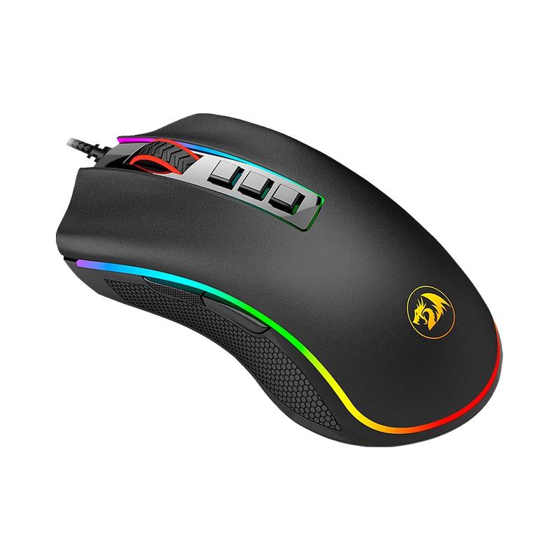 Mouse Gamer Redragon Cobra Chroma M711 RGB, 10000 DPI, 7 botões, USB