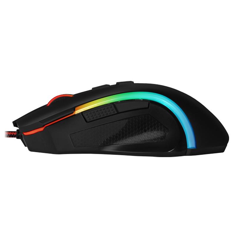Mouse Gamer Redragon Griffin M607 RGB, 7200DPI, 6 Botões