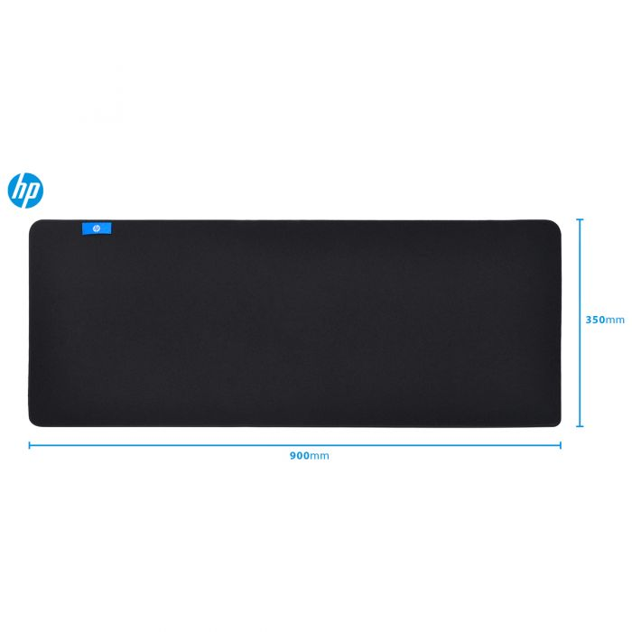 MOUSE PAD GAMER HP - MP9040 BLACK - EXTRA GRANDE (90X35X4MM)