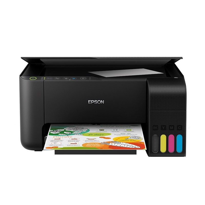 Impressora Multifuncional Epson EcoTank L3150 - Tanque de tinta frontal, Wireless