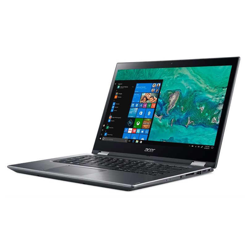 "Notebook 2 em 1 Acer Spin 3 - Intel Core i5 de 8ª Geração, 8GB, SSD 120GB +HD 1TB, Tela 14"" HD, Win 10 - SP314-51-C5NP"