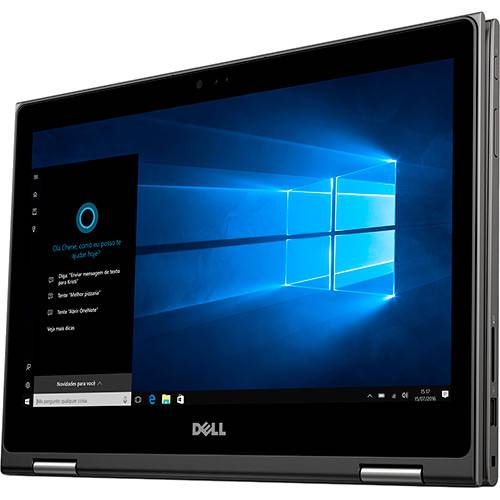 """Notebook 2 em 1 Dell Inspiron 13-5378 - Intel Core i7 7º Geração, 8GB de memória, SSD de 256GB, Tela LED Full HD de 13.3"""" Touch, Windows 10 (seminovo)"""
