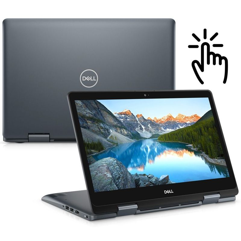 "Notebook 2-em-1 Dell Inspiron 14 - Intel Core i7 8ªG, 8GB, HD 1TB, Tela Touch 14"", Windows 10"