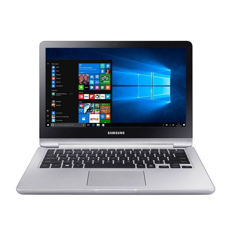 "Notebook 2 em 1 Samsung Style NP740 - Intel Core i5, 4GB, 500GB, Tela Full HD 13"" Touchscreen"