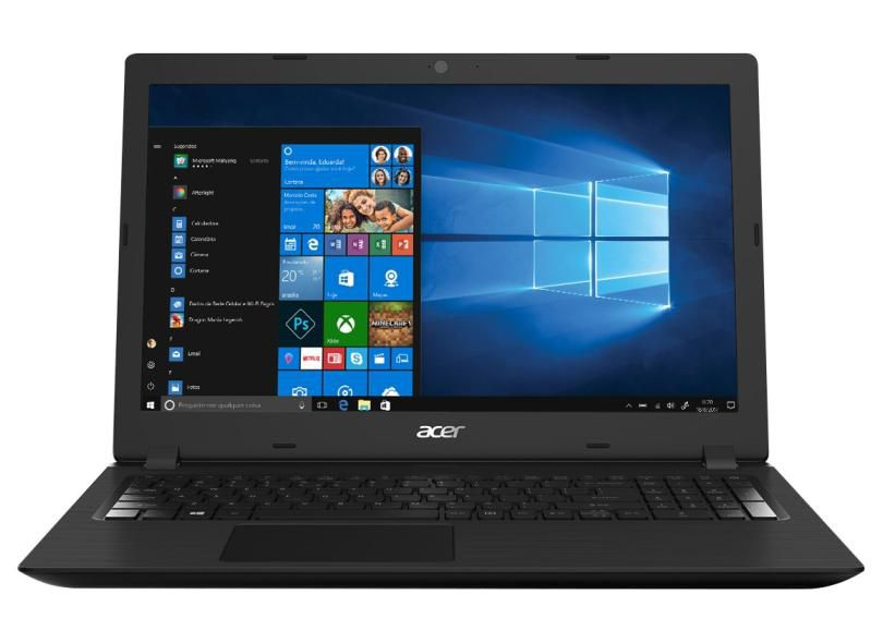 Notebook Acer Aspire 3 A315-53 Intel Core i3 8ª Geração, 8GB, Ssd 120Gb + Hd 1Tb, Tela 15.6""