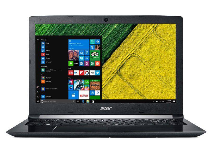 """Notebook Acer Aspire 3 A515-51 Intel Core i3 8ª Geração, 8GB, HD 1TB, Tela 15.6"""""""