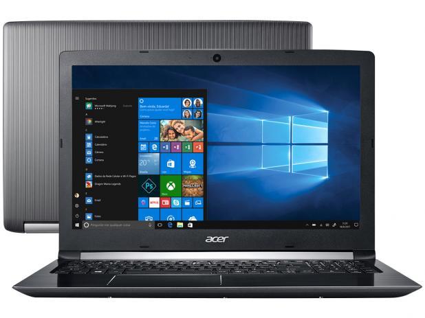 """Notebook Acer Aspire 3 A515-51 Intel Core i3 8ª Geração, 8GB, Ssd 120Gb + Hd 1Tb, Tela 15.6"""""""