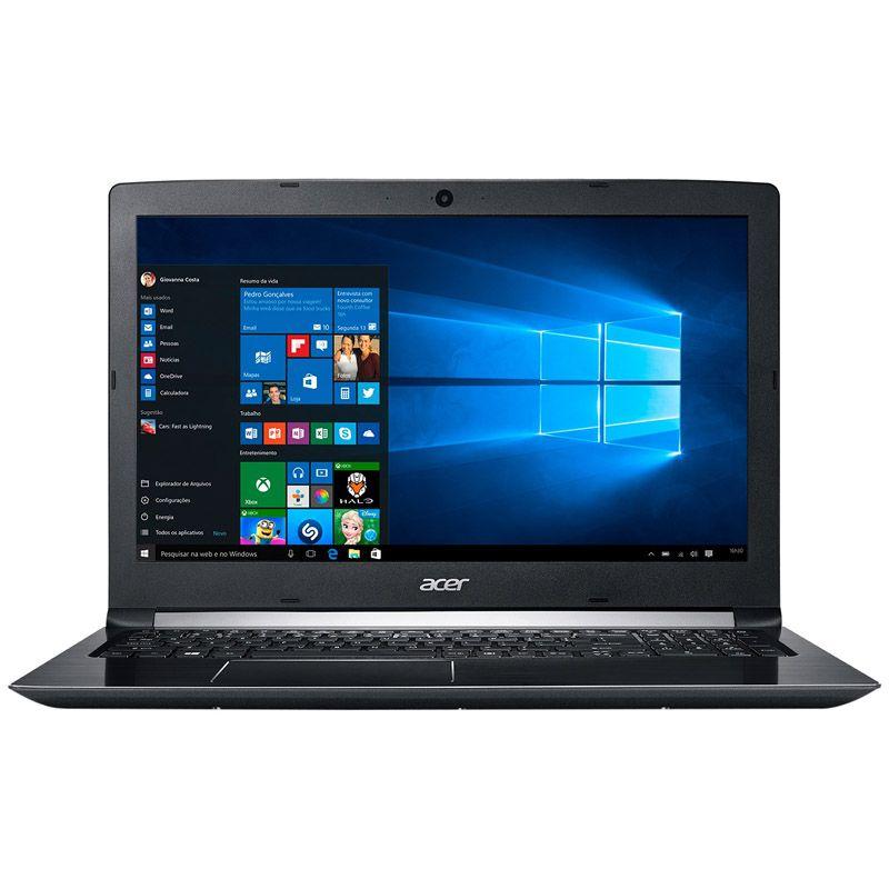 """Notebook Acer Aspire 5 A515 - Intel Core i5 7ª Geração, Memória 8GB, Hd 1TB, Tela 15.6"""", Windows 10  (Seminovo)"""